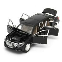 1:32 Mercedes Maybach S650 Limousine Diecast Metal Model Car Toy UK STOCK