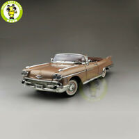 1/18 1958 CADILLAC ELDORADO BIARRITZ Road Signature Diecast Model Car Toys