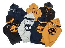 Timberland Mens Essential Tree Logo Hoodie Sweatshirt Wheat Black Gray Navy Blue