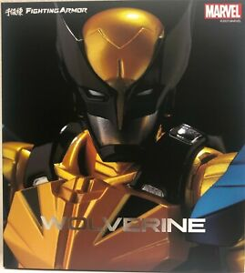 Sentinel Marvel Wolverine Fighting Armor Action Figure X Men Bandai New in Stock