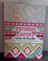 Adult Coloring Book Patterns & Moths Color & Doodle Tear And Share  Of Fun New