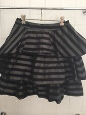 Cue Above Knee Striped Skirts for Women