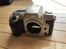 Nikon N60 35mm SLR Film Camera Silver Body