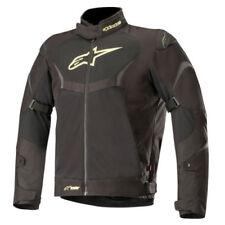 Blousons imperméables noirs à dos pour motocyclette