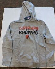 Cleveland Browns Fanatics Mens Pullover Hoody NWT Size Large