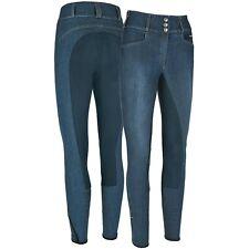 Pikeur Reithose D.Candela Jeans McCrown blau Gr. 38