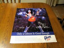 Kiss - Ace Frehley Original Double Sided Gibson Promo Poster