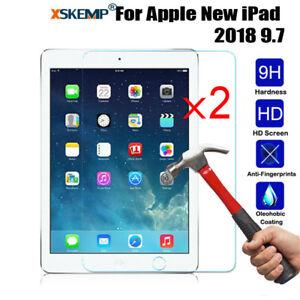 2x Premium Tempered Glass Film Screen Protector For Apple iPad 2 3 4 /mini / Pro