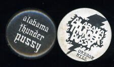 "Hard to Find Pair (2) of Alabama Thunder Pussy Virginia Punk Band 1"" Pinbacks"