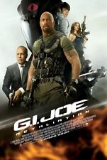 "G.I. JOE RETALIATION 2013 Original Ver B DS 2 Sided 27x40"" Movie Poster Johnson"