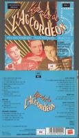 Légendes De L'accordéon Vol 2 Cd Album Medard Ferrero Jean Vaissade Marceau