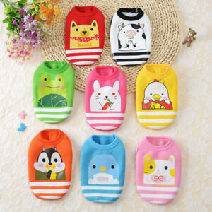 New Cute Puppy Winter Warm Thick Sweaters Baby Pet Clothes Teacup Dogs Clothing