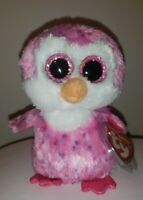 """Ty Beanie Boos - GLIDER the Penguin 6"""" (European Exclusive) MINT with MINT TAGS"""
