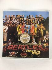 """The Beatles Sgt. Pepper Lonely Hearts Club Band LP cover metal sign 12"""" x 12"""""""