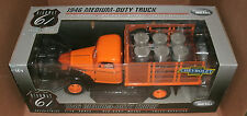 1/16 Scale 1946 Chevrolet Truck Diecast Model Flatbed With Barrels  HWY61 50462