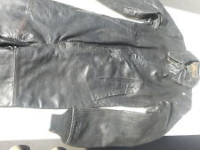 WWII German Leather Luftwaffe Flight suit Original Condition Rare