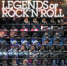 Legends of Rock'n'roll CD+DVD ~ Ray Charles, Bo Diddley, Jerry Lee Lewis Neu!