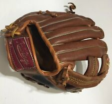 Reggie Jackson baseball glove 1977 Rawlings 21103 deep well leather YOUTH Yankee