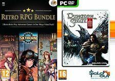 retro rpg bundle deadly sin 1&2 & skyborn & dungeon siege 3     new&sealed