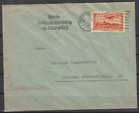 H3418/ SAAR – AIRMAIL - MI # 196 ON COVER