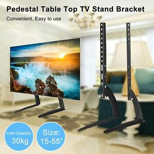 "Universal Table Top TV Stand Base VESA Pedestal Mount 39""-55"" LCD LED 3D TVs"