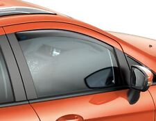 Ford Ecosport 10/2013  ClimAir* Wind Deflectors Light Grey, Front 1852671