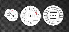 Yamaha TRX850 Tachoscheiben TRX 850 Gauge Tacho gauge disk plates kmh speedo Set