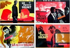 LE PETIT SOLDAT Italian fotobusta photobusta movie posters x4 GODARD ANNA KARINA
