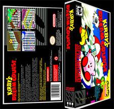 Kirbys Dream Course - SNES Reproduction Art Case/Box No Game.
