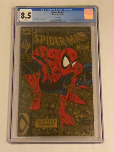 SPIDER-MAN #1 ~ Gold Edition | Lizard Appearance ~ CGC 8.5 WHITE PAGES