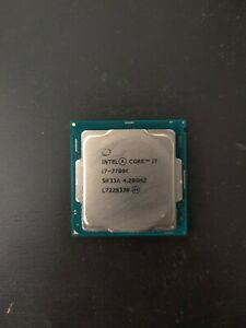 Intel Core i7-7700K Socket 1151 Quad Core CPU 4.20GHz SR33A
