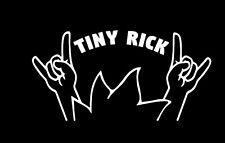 Tiny Rick Vinyl Decal ADULT SWIM CARTOON NETWORK RICK AND MORTY 160mm long