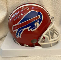 MARV LEVY Signed Autographed Mini Helmet Coach Buffalo Bills HOF INSCRIPTION