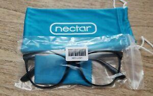 NECTAR Computer Blue Light Blocking New Haven Glasses Black Frame