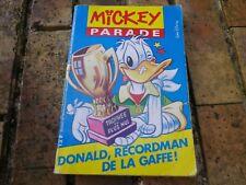 MICKEY PARADE n° 139 de 1991 assez bon état pliures sur la couverture voir photo