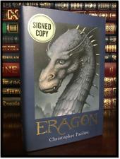 Eragon ✎SIGNED✎ by CHRISTOPHER PAOLINI Brand New Inheritance Cycle #1 Hardback