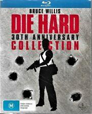 Bruce Willis Die Hard 30th Anniversary Collection 5 Movie Blu-ray Set