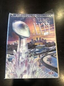 NFL Super Bowl Game Program XXVI ~ 1992 Redskins vs Bills Minneapolis MN