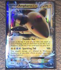Pokemon Card   AMPHAROS EX  Ultra Rare  Ancient Origins  27/98 ***MINT***