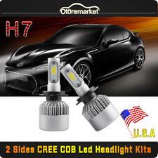 H7 CREE COB LED Headlight Conversion Kit 200W 20000LM Light Bulbs 6500K White US