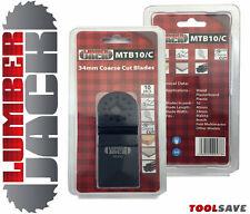 10 TRADE Blades Coarse 34mm Fein Multimaster Bosch Makita Oscillating Multitool