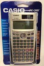 Casio - FC-200V - Financial Calculator with 4-Line Display