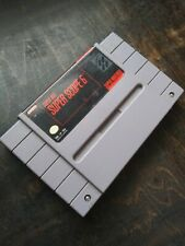 nintendo snes super scope 6 game cartridge