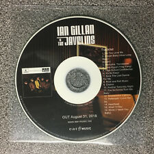 Ian Gillan & The Javelins - S/T. 16 track promo CD (2018) Deep Purple