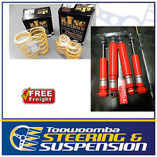 HOLDEN SEDAN 6CYL HQ HJ HX HZ 30-40MM LOW KONI SHOCKS & KING SPRINGS KIT