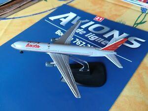 1/460 / AVION BOEING 767-300 LAUDA AIR RBA FABBRI AVIONS DE LIGNE AVEC FASCICULE