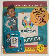 *UEFA EUROPEAN CHAMPIONSHIPS EURO 2020 PANINI PREVIEW STICKER ALBUM SEALED NEW*