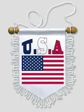USA - 13 X 15 CM - AUTO WAND FAHNE FLAGGE WIMPEL
