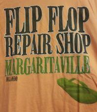 """Margaritaville """"FLIP FLOP REPAIR SHOP"""" Orlando Shirt Adult Small Jimmy Buffett"""
