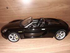 Porsche Carrera GT Black 1:18 diecast model car Maisto Stunning
